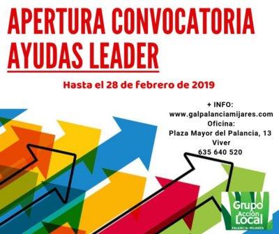 Convocatoria AYUDAS LEADER 2º